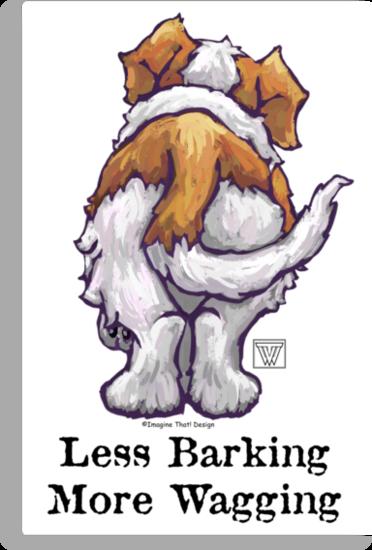Less Barking, More Wagging by Traci VanWagoner