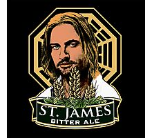 St. James Bitter Ale Photographic Print