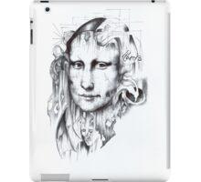 Behind Mona Lisa iPad Case/Skin