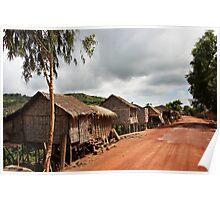 Cambodia - Lake Tonl'e Sap - #01 Poster