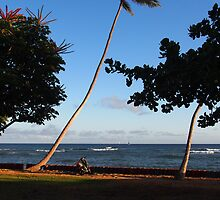Lean on me: Honolulu, Hawai'i by Sally Kate Yeoman
