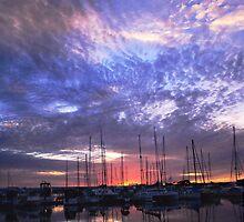 Sunset Fire by MissChezz