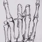 Rock On Skeleton Hand by BonesToAshes