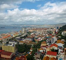 Gibraltar City by Janone