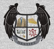 Destiel coat of arms by JudithzzYuko
