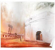 Morocco - Essaouira Town Poster