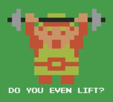 Do You Even Lift? 8-bit Link Edition by JDNoodles