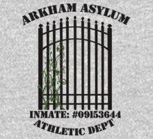 Arkham Asylum, Inmate: Poison Ivy  by Elizabeth Aubuchon