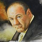 Goodbye Tony (James Gandolfini 1961 - 2013) by Jan Szymczuk