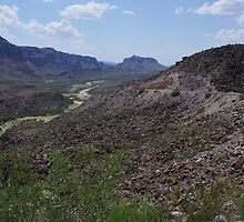 Rio Grande valley Lajitas - US-Mexico Border - Rio Grande - Lajitas - West Texas by seymourpics