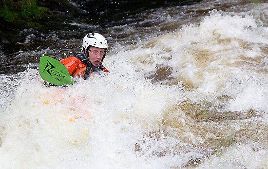 The National Whitewater Centre Canolfan Tryweryn by Tony  Glover
