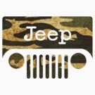 Jeep Camouflage Silhouette by avdesigns
