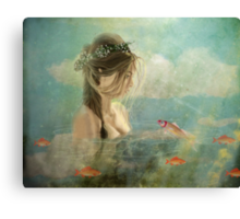 Please sing me your song ... Canvas Print