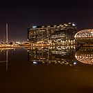 Melbourne Reflections  by Paul Campbell  Photography