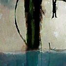 Beanstalk New Media Painting by Galen Valle