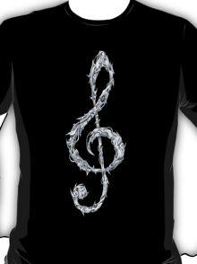 Metal Treble Clef T-Shirt