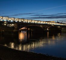Blackfriars Bridge, London, UK by Georgia Mizuleva