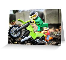 Will likes bikes. Greeting Card