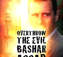 Bashar Assad Is Evil by morningdance
