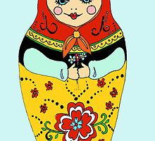 Russian Doll Blue by NicolaSpencer