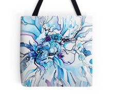 Sub-Atomic Stress Release Therapy - Watercolor Painting Tote Bag