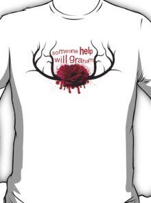 Hannibal-Someone Help Will Graham T-Shirt