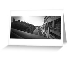 "The ""Colonel By"" Canal Locks in Ottawa Greeting Card"