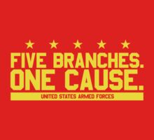 Five Branches: Marines by Mark Omlor