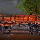 Wagons East by Gunter Nezhoda