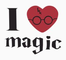 Harry Potter. I heart magic by Brantoe
