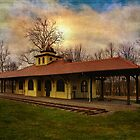 Napanoch NY Railway Station by PineSinger