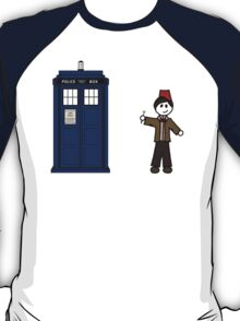 Dr Who (11) car sticker family (also on shirts) T-Shirt