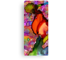 One Red Rose... or Flamingo Dancer? Canvas Print