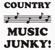 Country Music Junky 15BLA by DavidAtchley