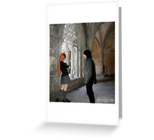 Hello - Severus and Lily Greeting Card