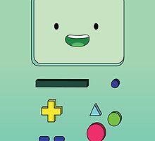 Adventure Time - Beemo by gentlebrah