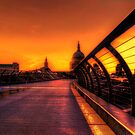 St Pauls Sunset by Dean Messenger