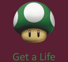 Green Mushroom Mario by bobsen118