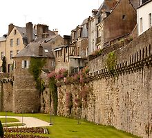 Ramparts de Vannes - Morbihan France by Buckwhite