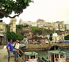Salvador Old Port at Noon by ibadishi