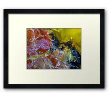 Wrapped In Cotton Wool (Opalite) Framed Print
