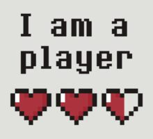 I am a player by infiniteloop8