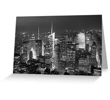 City nights Greeting Card