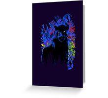 Bright eyes - Black Panther Greeting Card
