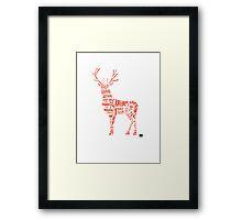 Hannibal- Stag Framed Print