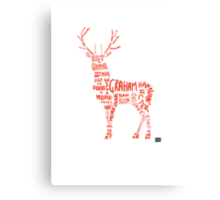 Hannibal- Stag Canvas Print