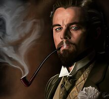 Leonardo DiCaprio as Calvin J. Candie by Richard Eijkenbroek