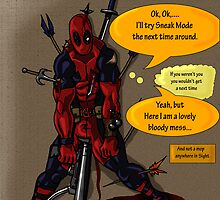 Deadpool Mess by THSWESSEL