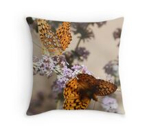 Butterflies 1 Throw Pillow