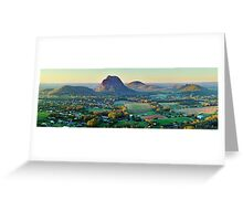 Glasshouse Mountains, Queensland, Australia Greeting Card
